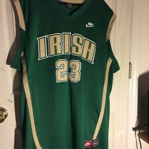 Nike LeBron James high school jersey